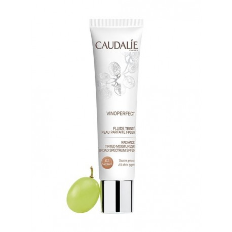 Caudalie Vinoperfect Fluido Con Color - Tono Medio 40ml