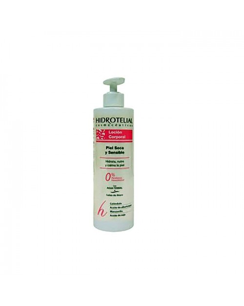 Hidrotelial loción corporal piel seca y sensible 500ml