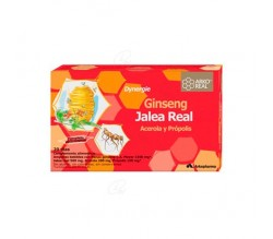 Jalea Real vitaminada. 20 ampollas arkoreal
